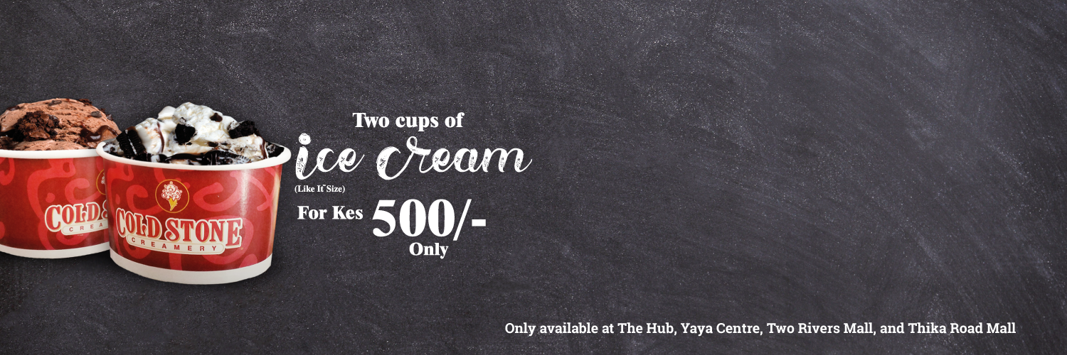 2 Cups of Ice Cream for 500/-