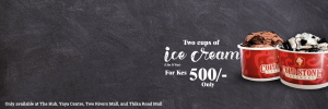 2 Cups of Like It Ice Cream @500/-