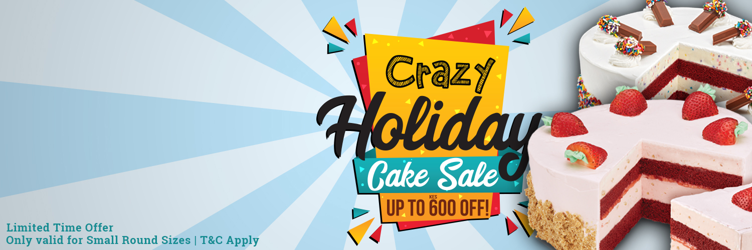 Crazy Holiday Cake Sale
